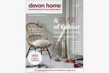 Devon Home magazine front cover - March/April 2014. Published by We Make Magazines