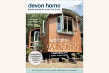 Devon Home magazine front cover - May/June 2015. Published by We Make Magazines