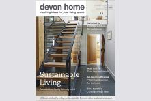 Devon Home magazine front cover - November/December 2016. Published by We Make Magazines