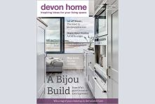 Devon Home magazine front cover - September/October 2016. Published by We Make Magazines